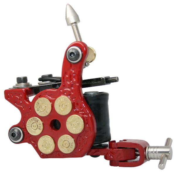 YILONG Professional Casting Iron Tattoo Machine 10 Wraps Coil Stainless Steel Tattoos Body Art Gun Makeup Machine Free Shipping