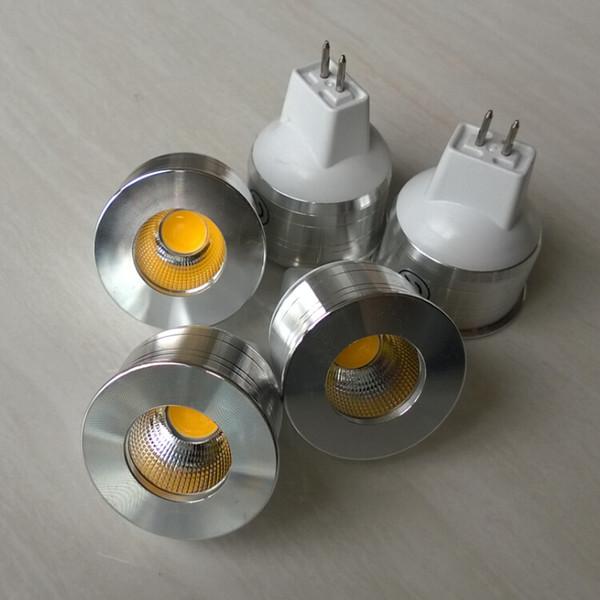Compre 10 Pcs Lote Dimmable Gu5 3 Gu10 Mr11 Gu4 Cob Mini 5 W Conduziu A Luz Spot De Poupanca De Energia Holofotes Lampadas Frio Branco Quente Branco