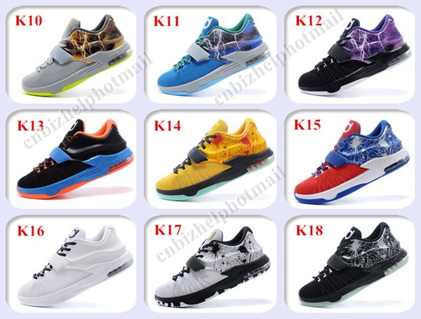 sale retailer 1ac7c 9bb74 2019 2015 New Kevin Durant KD 7 Basketball Shoes Men KDs 7 VII The Thor  Mens Basketball Shoes Size 7 12 From Cnbizhelphotmail, $52.8 | DHgate.Com