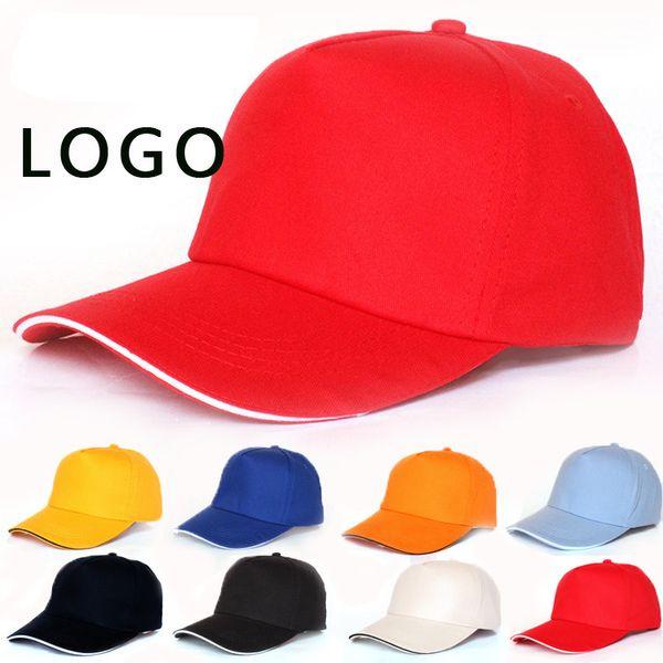 Outsport Caps Summer Adult Casual Cap Blank Trucker Hats Snapback Hats Accept Custom Made LOGO Men Women Baseball Hat