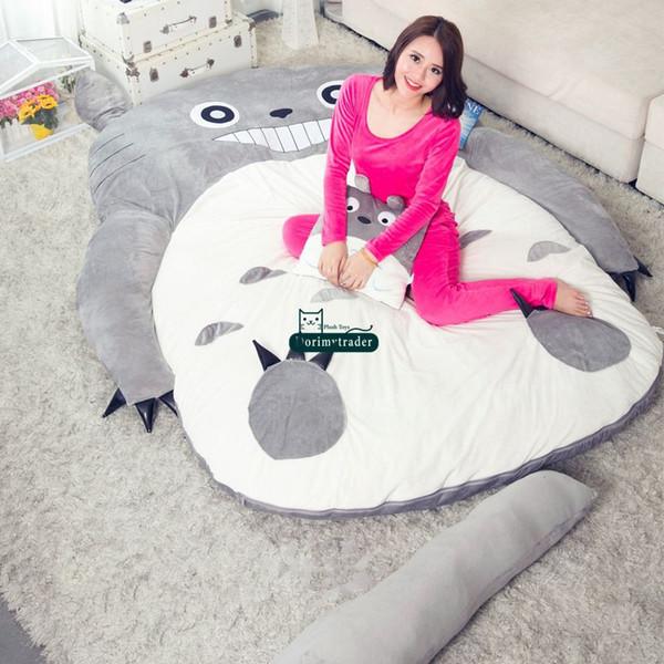 Wondrous 2019 Dorimytrader Pop Anime Totoro Plush Beanbag Soft Sleeping Bag Bed Sofa Tatami Sofa 5 Sizes Kids And Adults Gift Decoration Dy61809 From Creativecarmelina Interior Chair Design Creativecarmelinacom