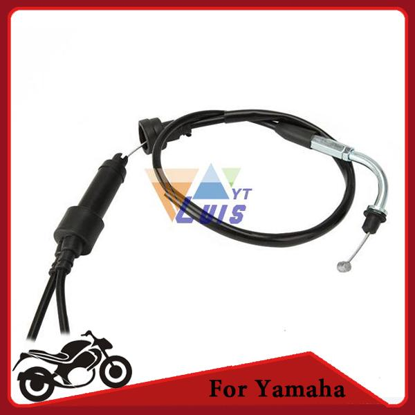 PW50 Motorcycle Dirt Bike Throttle Cable With Splitter Assy Pull For Yamaha  1981-2009 order<$18no track