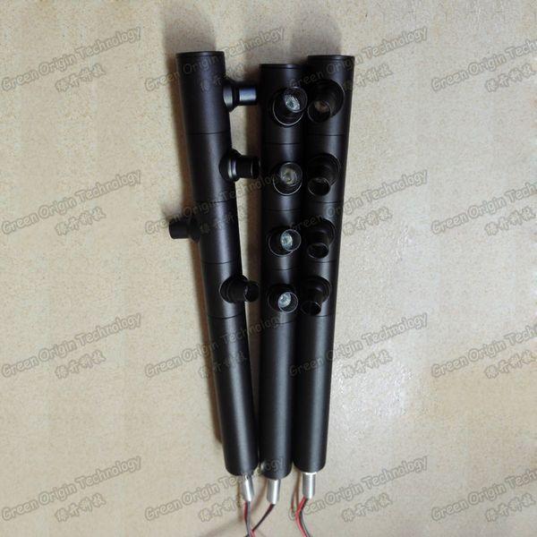 4W 250MM ad alta potenza angolo riflettore regolabile LED gioielli display vetrina luce nero argento color oro