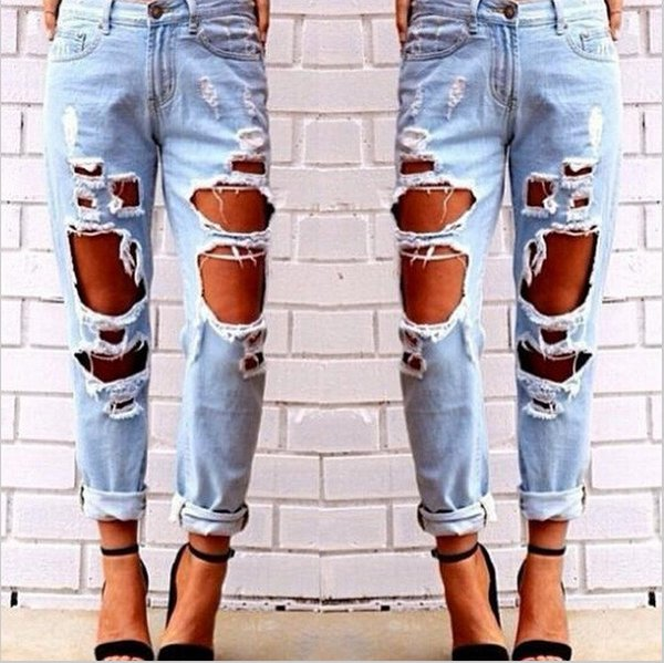 Ripped Designer Jeans - Xtellar Jeans