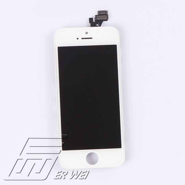 Wholesale-100% Tested No Dead Pixel No Dots LCD Retina Display Screen Assembly For iPhone 5G/5S/5C