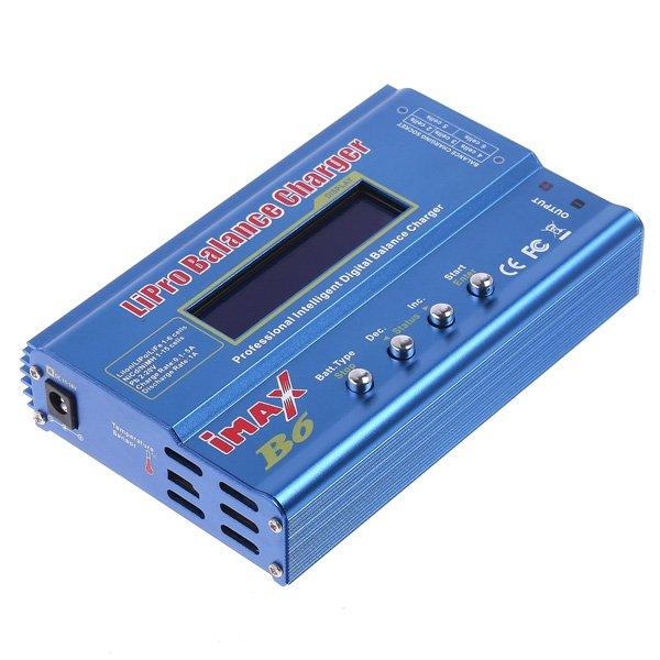 iMax B6 Digital LCD RC Lipo NiMh Battery Balance Charger For RC Helicopter RC Car Battery order<$18no track