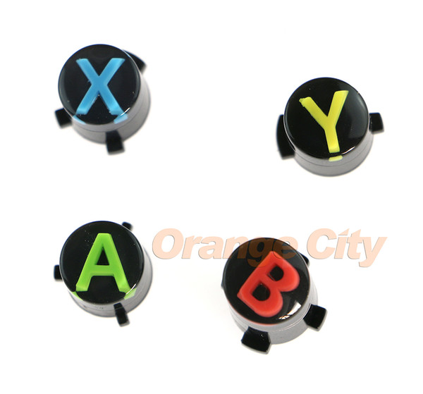 For XBOX ONE Wireless Controller button ABXY LOGO set mod kit Repair Parts Controller Parts