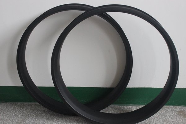 New arrival 26er Carbon Fibre ud matte 100mm Width Hookless Wheels used for Fat bicycle 25mm depth spoke 32/36/64h Racing bike