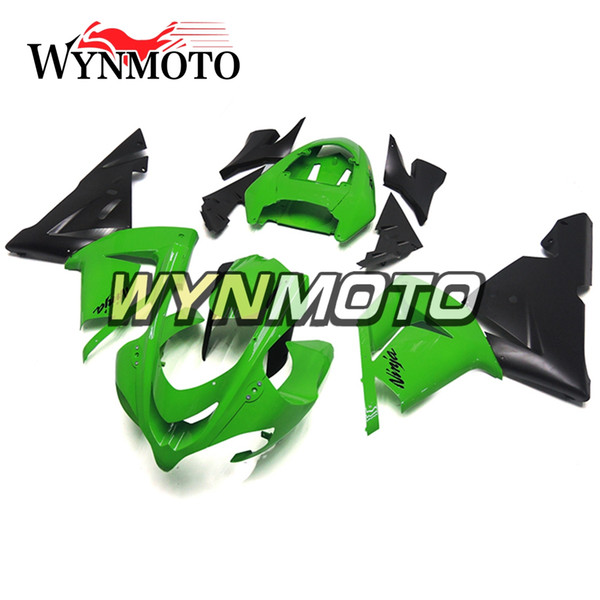 Full Fairings Fit for Kawasaki ZX-10R ZX10R 2004 2005 04 05 Injection Plastics Motorcycle Fairing Kit ABS Covers Bodywork Green New