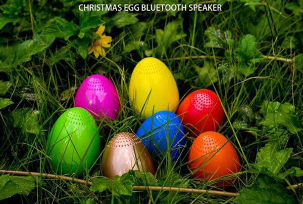 EGG Bluetooth Wireless Speaker for Christmas Gifts Mini Music Player Outdoor Speaker TWS Bluetooth Speaker with Remote Camera