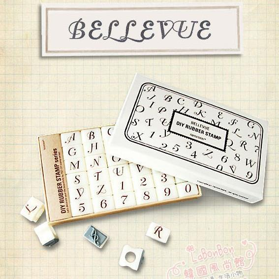 best selling Lovely stationery Script MT Bold 36pcs alphanumeric stamp number letter stamp cute diary DIY rubber stamp chop