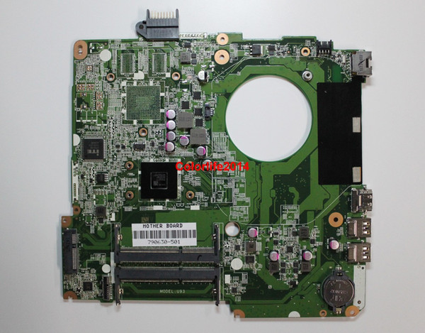 best selling for HP 15-F003DX 15-F008CL 15-F048CA 15-F205DX Series 790630-501 UMA A6-5200 DA0U93MB6D2 Laptop Motherboard Mainboard Working perfect