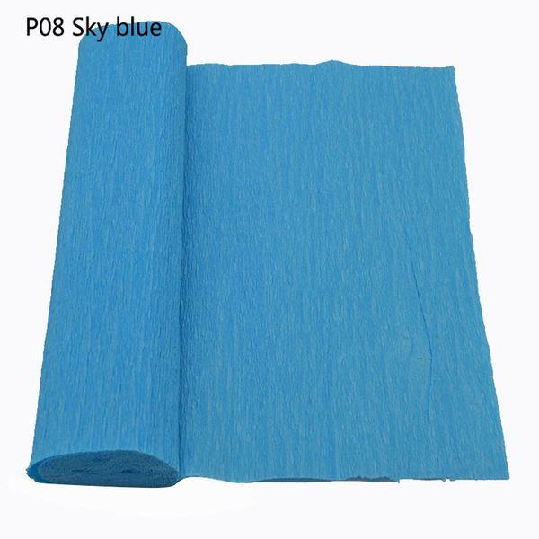 P08sky azul