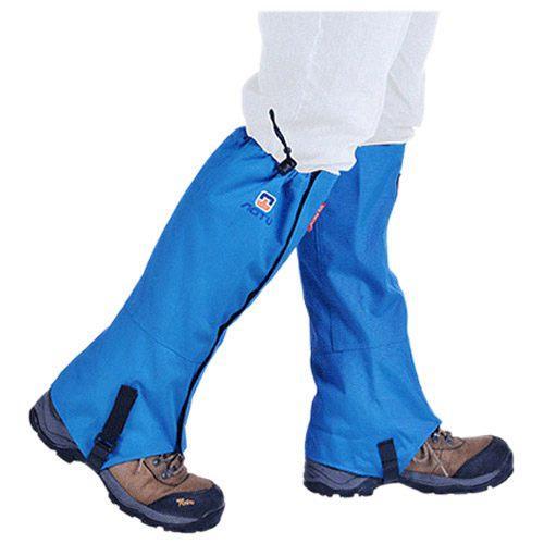 All'ingrosso-AOTU di alta qualità impermeabile Outdoor Super Light Snow Cover Unisex Protective Snow Cover Piede Set manica sabbia AT8909 blu
