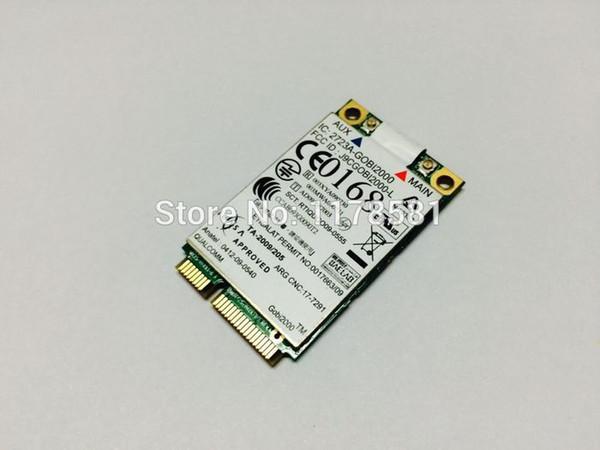 best selling Freeshipping Unlocked Thinkpad GOBI2000 FRU 60Y3183 GPS 3G MODULE PCI-E WWAN Card FOR Thinkpad x201 T410 W510