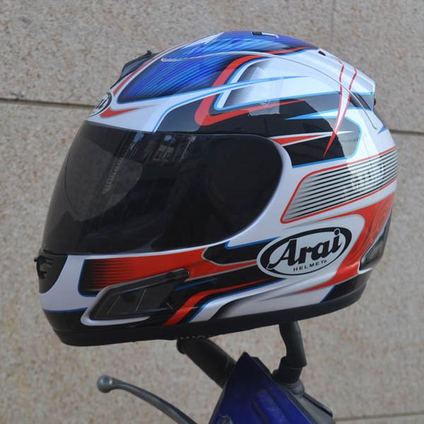 Vente en gros-Livraison gratuite casque de moto casque intégral ARAI Casque intégral DOT