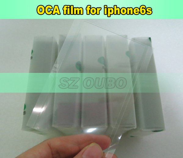 Mitsubishi OCA Glue For iPhone 6S 4.7inch Optical Clear Adhesive Double Sided Sticker 250um For Cracked LCD Repair 200pcs/lot