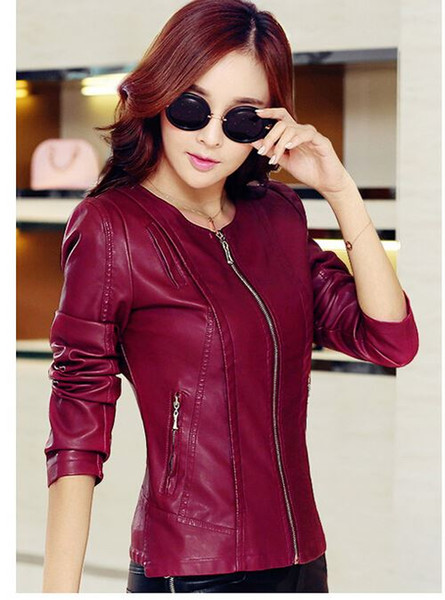 Cute Leather Jackets For Women - Pl Jackets