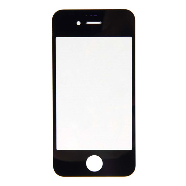 Wholesale-1pcs Front Screen Glass Lens Repair Replacement for Apple for iPhone 4 4S Promotion