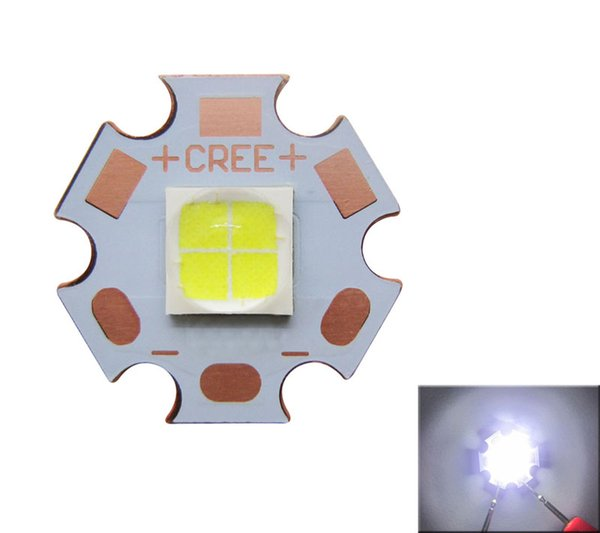 Cree XHP70 White 6000-6500k Led Light 6V With 20mm Copper Board