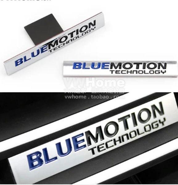 POUR VW BLUEMOTION BOOT BADGE emblème Golf 6 GTI Golf 7 TDI B5 B6 Tiguan passat B7L Jetta MK4 MK5 MK6 CC lavida AP064
