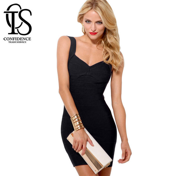 Women Candy Spaghetti Strap Celebrity Bandage Dress Lady Mini Backless Sexy Dress Club Wear Cocktail Party Summer Dress XS-XXL