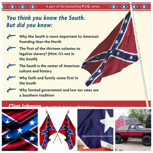 North And South Civil War Flags