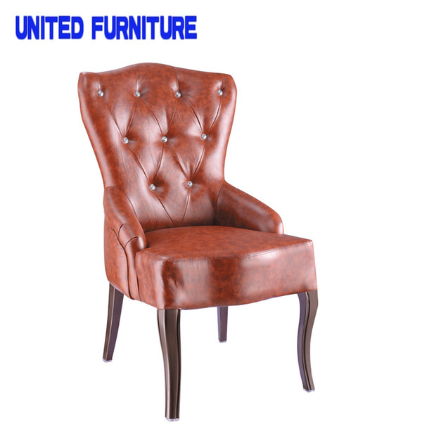 Admirable 2018 French Designer Metallic Iron Leather Chair Accent Chair Occasional Chairs Modern Sofa Dining Room Furniture Home Furniture From Lovefurniture Gmtry Best Dining Table And Chair Ideas Images Gmtryco