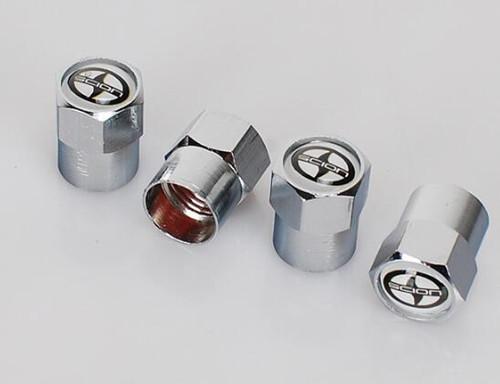 Brand New 4pcs/set Auto Car Wheel MiniTire Valve Caps Tyre Stem Air Caps With Car Logo Badges Emblems SCION spider