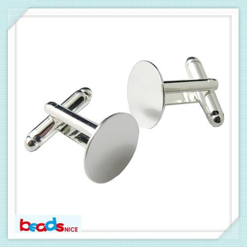 best selling Wholesale-BeadsnID3424 fashion design cufflinks for mens French cufflink backs free shipping 16mm blank cuff links high quality