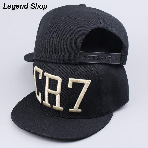 Toptan Satış - Toptan-2015 Sıcak Satış Moda Yeni Stil Cristiano Ronaldo CR7 Cap Snapback Beyzbol Şapka