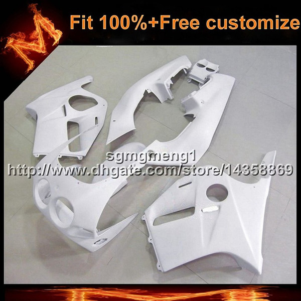 23colors+8Gifts Injection mold WHITE ABS motorcycle panels For Honda CBR250RR MC19 1988-1989 MC19 88 89 ABS Plastic Fairing