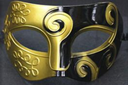 Holiday promotion wholesale! Half Faces For Men Roman Gladiator Mask Venetian Mardi Gras Masquerade Halloween Maks 200pcs