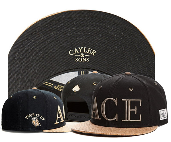best selling Summer mens bones leather snapback black hats for men hip hop full cap baseball women casual gorras cayler sons planas aba reta