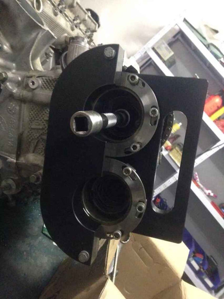 BENBAOWO TOOLSCar Ferramenta de Garagem PARA BMW S85 (E60 M5, E63 M6) Ferramenta de Alinhamento de Cames Mestre KIT