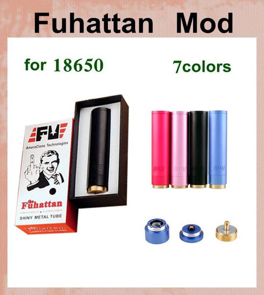 mechanical mod Fuhattan Mod battery ecig mod VS vv vw ecig mod 18650 battery 2100mah electronic cigarette battery mod god180 TZ167