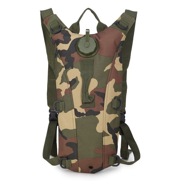Outdoor Sports Water Bag Backpack Camouflage Package Riding Outdoor Camping Hiking Cycling Military Tactical Water Bag Backpack