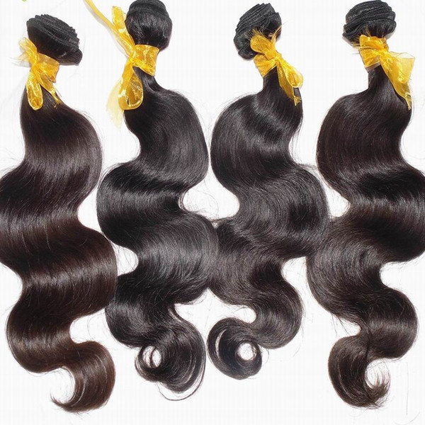 Kiss My Queen Premium Celebrity raw Virgin Peruvian Body Wave Hairs 4pcs/lot Brownish Weave Wefts
