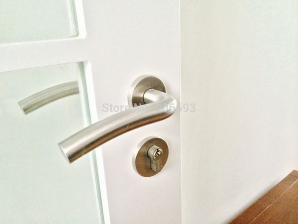 2018 Modern Stainless Steel Classic Ocean Wave Door Handle/Door Lock ...