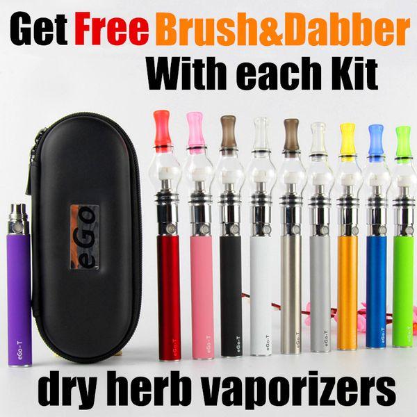 EGO Glass Globe Dab vape pen ego wee vaporizer dry herb Wax Vaporizer Pen electronic cigarette EGO-T oil vaporizer pen starter kits