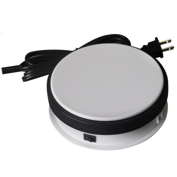 Wholesale-15KG che carica la tabella del tiro della scatola di visualizzazione del piatto girevole rotatorio del banco di mostra di 15cm