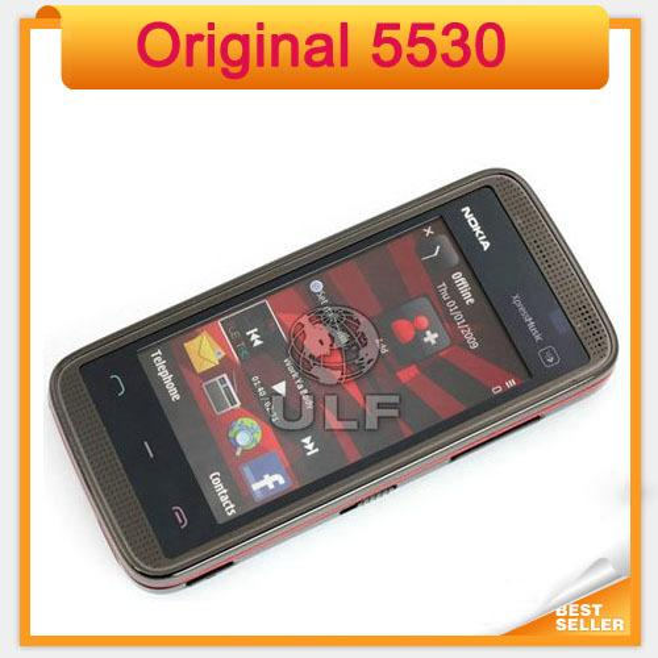 Original Nokia 5530 XpressMusic refurbished Mobile Phone 5530 single core bar gsm single sim mobile phone