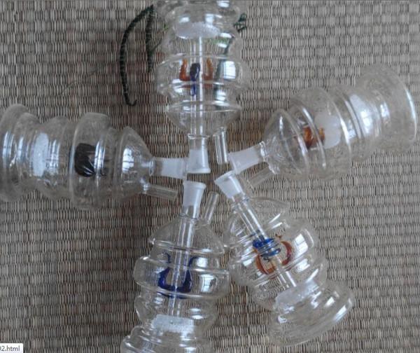 Frete grátis em todo o mundo tubulações de água montagem de filtros de vidro narguilé (10 peças / lote)