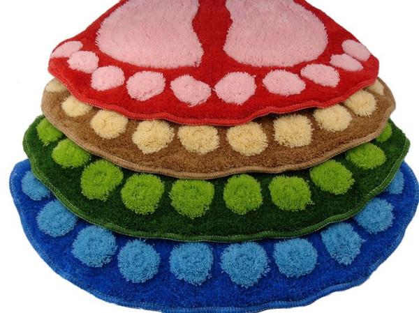 Hot Sale New Cute Big Feet Carpet Mets, bedroom bathroom Carpet, Door Floor Mat