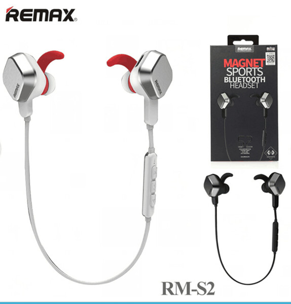 Bluetooth 4 0 Wireless Headset Earphone Remax Rm S2 Professional Unique Magnet Earphone Universal Stereo Headphone Childrens Headphones Cordless Headphones From Emily2015 18 4 Dhgate Com
