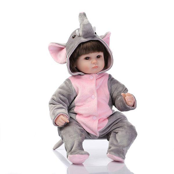 hot sale lifelike reborn baby doll wholesale newborn baby fashion doll Christamas Gift newborn baby doll