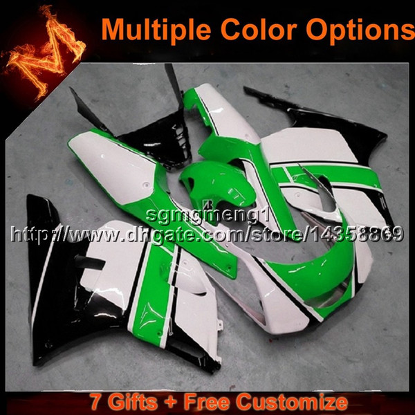 23colors+8Gifts GREEN motorcycle cowl for Yamaha 3XV 1991-1994 91 92 93 94 TZR250 3XV 1991 1992 1993 1994 ABS Plastic Fairing