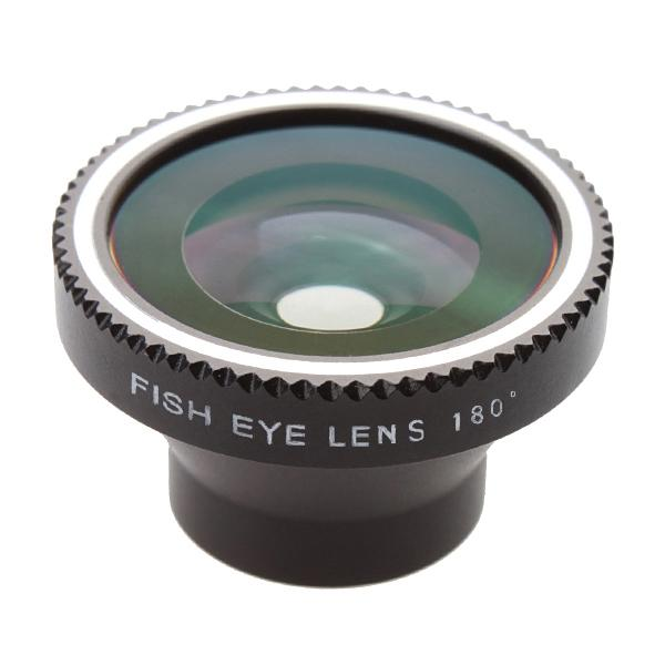 Wholesale-180 degree Detachable maganetic Fisheye lens for iPhone 4 5 Samsung S3 S4 Note2,EMS Free shipping 100pcs/lot