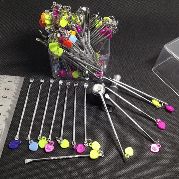 Нержавеющая сталь е инструмент для сигарет титан лак для ногтей для воска сухой травы стекла назад g5 vgo неглубокая сковорода микро распылитель g испаритель ручка бесплатно