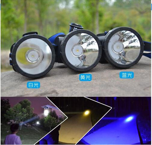 Drop shipping 3000 Lumens LED Headlamp Head Lamp Waterproof Rechargeable Cycling Fishing Headlight +18650 Battery +Charger